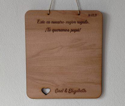 tabla madera personalizada para pintar