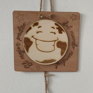 portafotos pinzas colgador de fotos con cuerda madera personalizado personal present