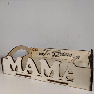 bandeja madera personalizada mamá día de la madre personal present
