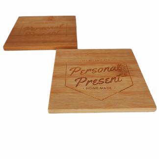 posavasos madera bambú personalizados empresas detalles invitados decoración eventos bodas bautizos comuniones personal present